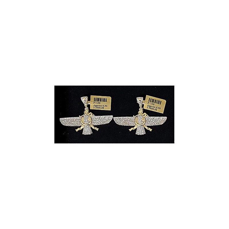 Custom Jewelry Diamond Horus