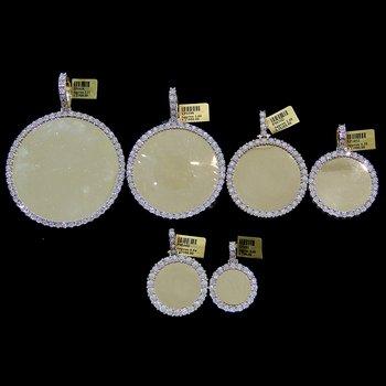Round Diamond Picture Pendant