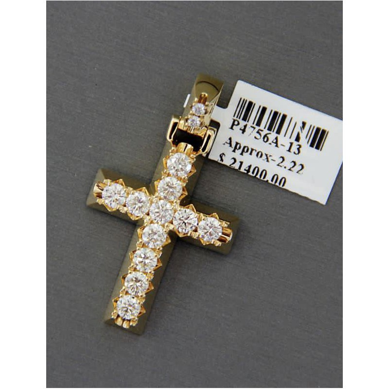 Custom Jewelry Diamond Cross