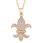 Shefi Diamonds FLEUR DELIS WITH BAIL