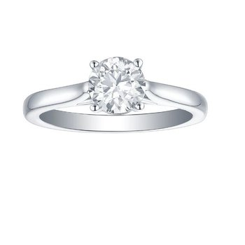 2 CT Solitaire Engagement Ring