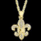 Shefi Diamonds Fleur De Lis