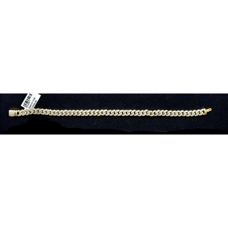 Custom Jewelry Diamond Miami Cuban Link Bracelet