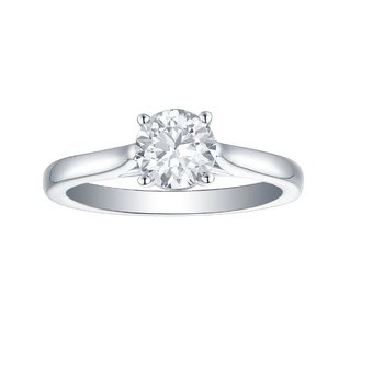 1 CT Solitaire Engagement Ring