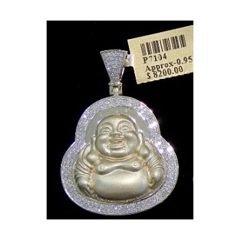 Diamond Buddha Head
