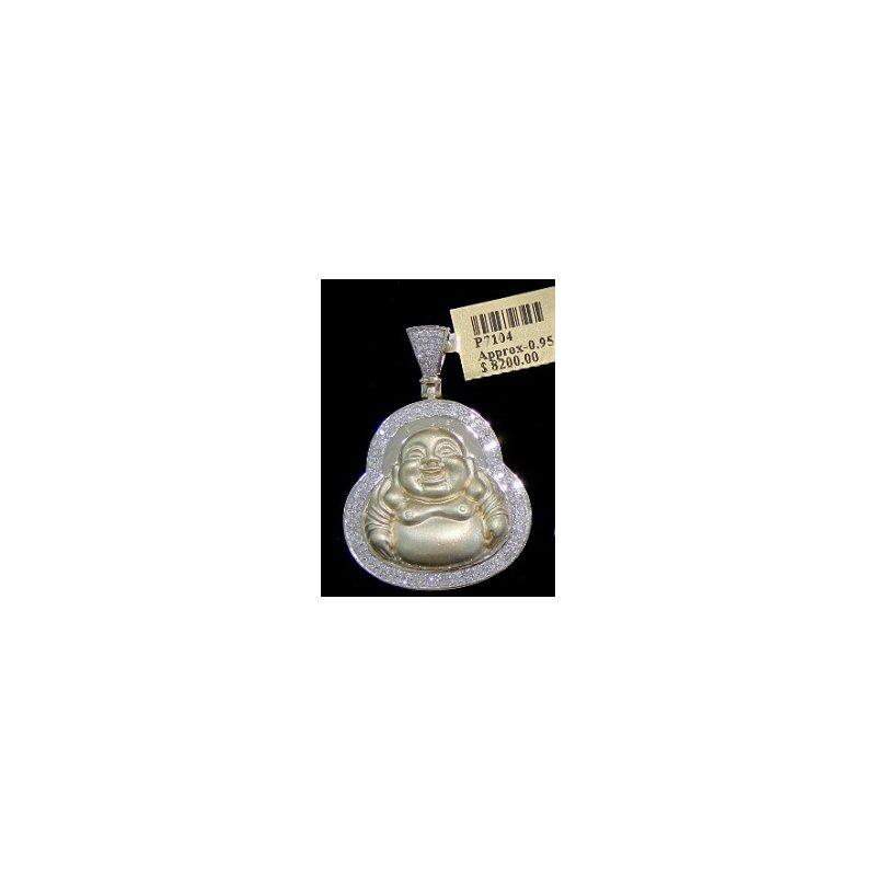 Custom Jewelry Diamond Buddha Head