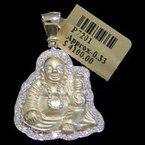 Custom Jewelry Diamond Buddha