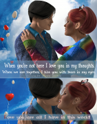 Edited by Michael Newton! When you're not here I love you in my thoughts. When we are together, I kiss you with tears in my eyes. Love you are all I have in this world!