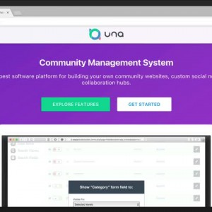 Site deployment and initial setup on UNA Cloud