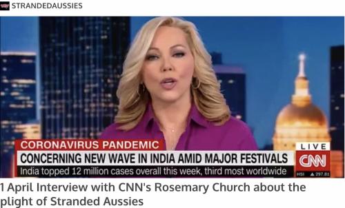 UNA Website on CNN
