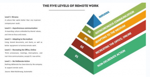 The 5 Levels of Remote Work