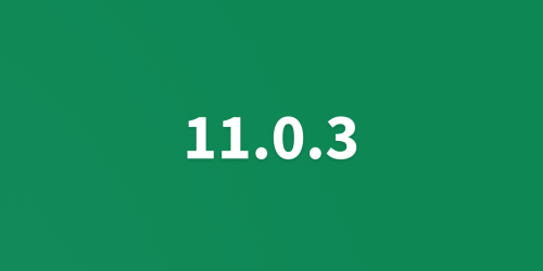 UNA 11.0.3 Released